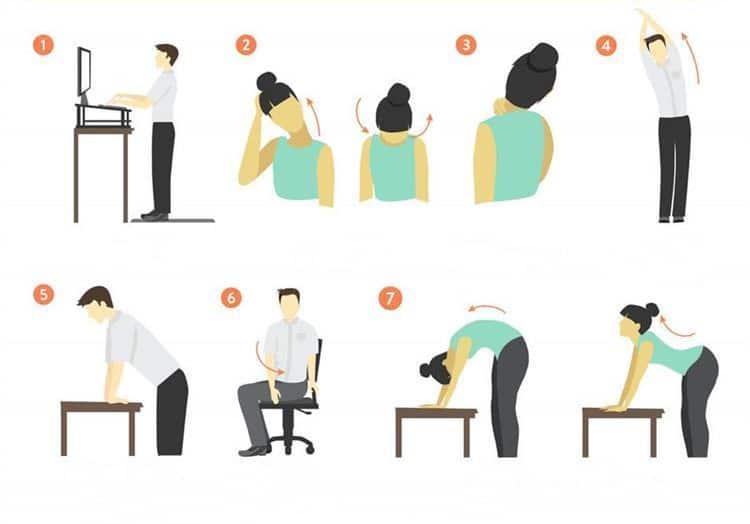 Rutina para liberar estrés en la oficina