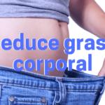 ¿Cómo puedo reducir grasa corporal?