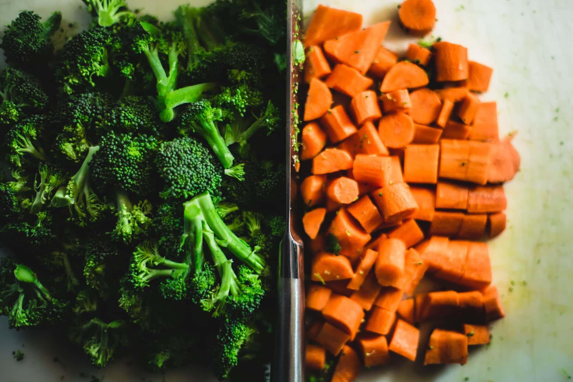 Bastones de zanahoria ideales para antes de hacer ejercicio