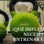 Implementos para realizar entrenamiento funcional en casa