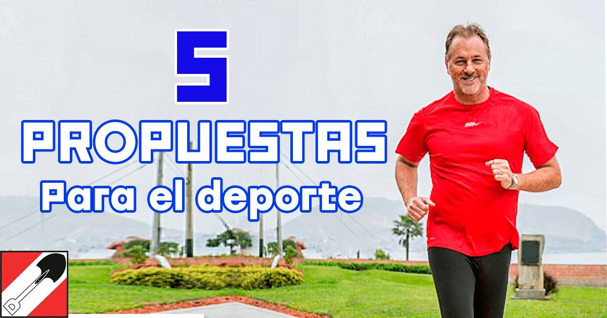Jorge Muñoz: ¿Será cierto? 5 propuestas para el deporte en Lima.