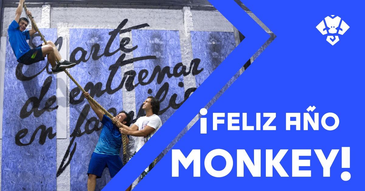 ¡Feliz año monkey!