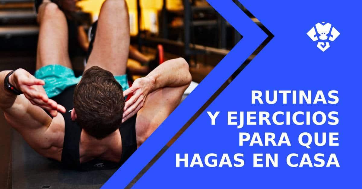 Entrenamiento funcional en casa. Rutinas y ejercicios