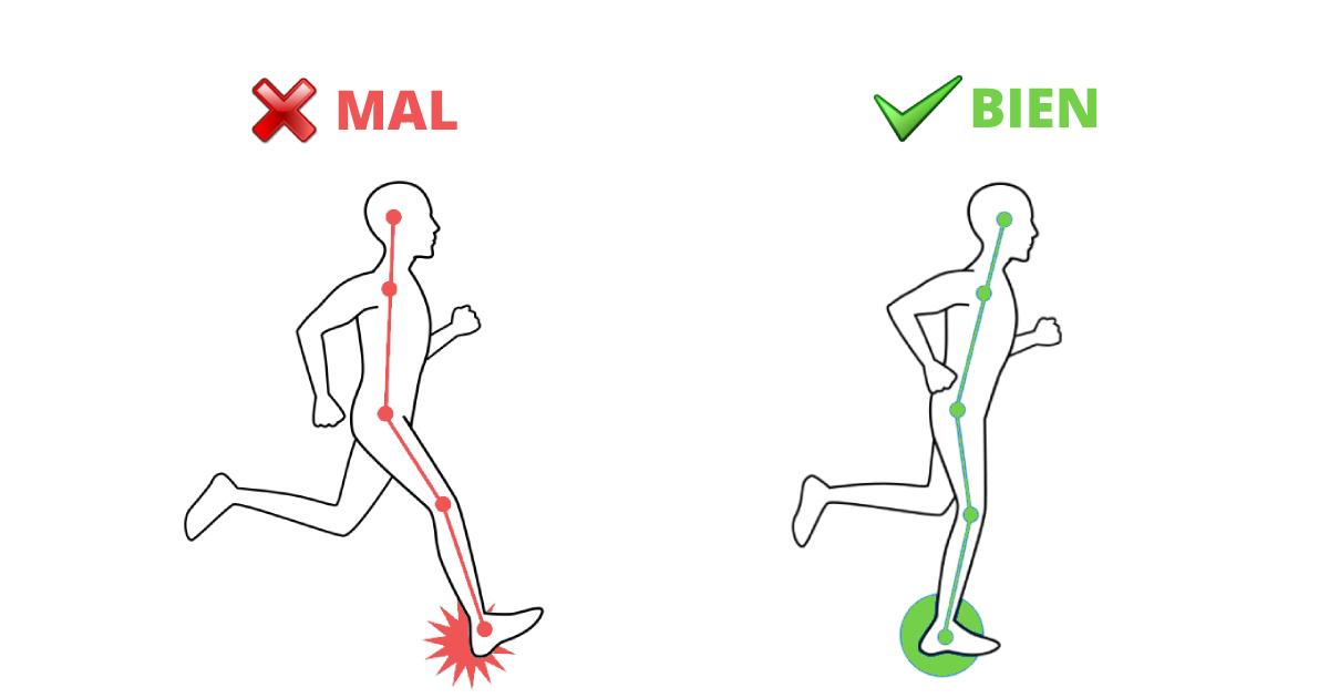 Esta técnica para correr, hará que mejores tu postura